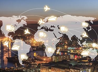 全球海空运